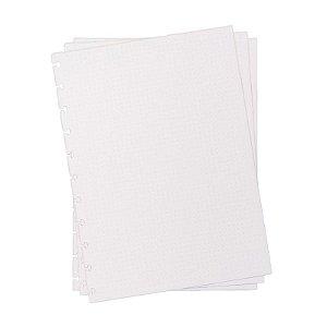 Refil p/ CI Grande 30 Folhas Pontilhado 120g - unitário - Caderno Inteligente