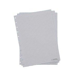 Refil p/ CI Grande 50 Folhas Pautado 90g - unitário - Caderno Inteligente