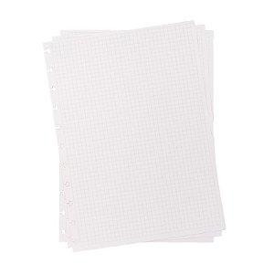Refil p/ CI Grande 50 Folhas Quadriculado - unitário - Caderno Inteligente