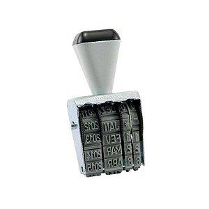 Carimbo Datador de Borracha 5mm - unitário - Carbrink
