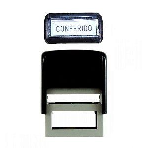 "Carimbo Automático ""Conferido"" - unitário - Carbrink"
