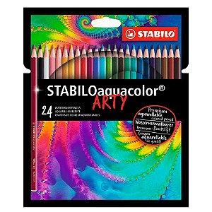 24 Lápis STABILO Aquacolor Arty - unitário - Stabilo