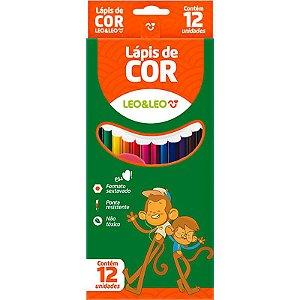 12 Lápis de Cor Leo&Leo - unitário - Leonora