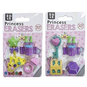 Borracha Criativa Castelo da Princesa - com 4 unidades - Importados