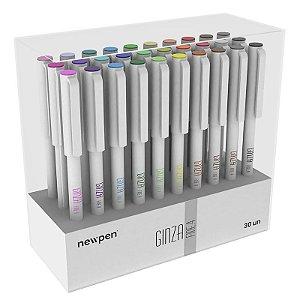 Marcador Artístico Ginza Fine.4 - Kit com 30 unidades - Newpen