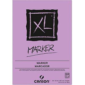 Papel XL Marker A4 c/ 100 Folhas 70g - unitário - Canson
