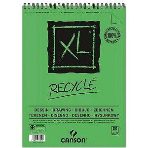Papel XL Recyclé A4 c/ 50 Folhas 160g - unitário - Canson