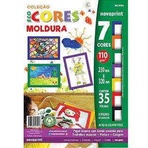 Coleção EcoCores Moldura c/ 35 Folhas 110g - unitário - Novaprint