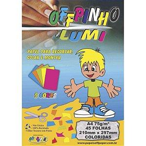 Offpinho Lumi A4 c/ 45 Folhas 75g - unitário - Off Paper