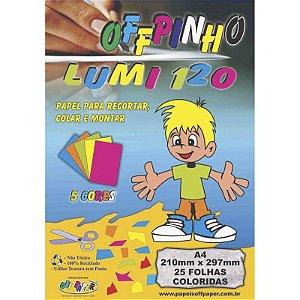Offpinho Lumi 120 A4 c/ 25 Folhas - unitário - Off Paper