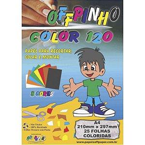 Offpinho Color 120 A4 c/ 25 Folhas - unitário - Off Paper