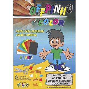 Offpinho Color A4 c/ 45 Folhas 75g - unitário - Off Paper
