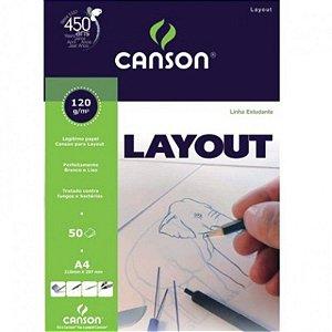 Bloco Layout A4 c/ 50 Folhas 120g - unitário - Canson
