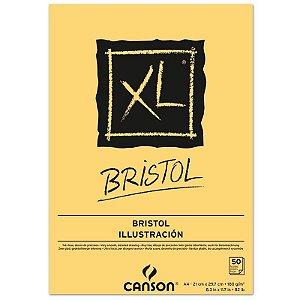 Papel XL Bristol A4 c/ 50 Folhas 180g - unitário - Canson