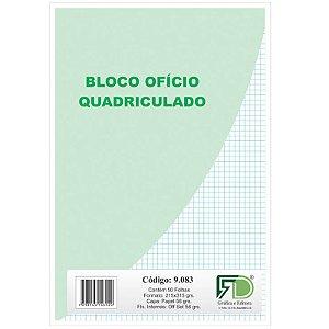 Papel Quadriculado c/ 50 Folhas 56g - unitário - F.D. Gráfica e Editora