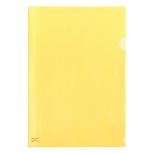 Pasta L Ofício Amarelo - unitário - DAC