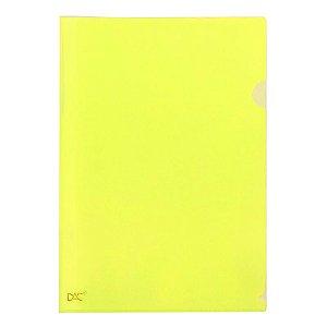 Pasta L A4 Amarelo - unitário - DAC