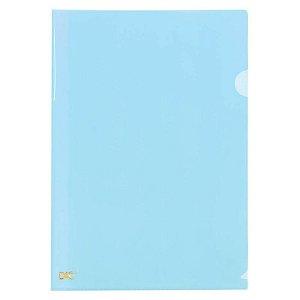 Pasta L A4 Breeze Azul Pastel - unitário - DAC