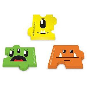 Borracha Monster Puzzle - unitário - Faber-Castell