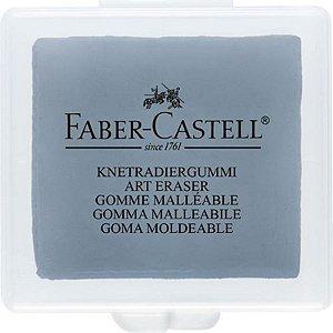 Borracha Maleável Cinza - unitário - Faber-Castell