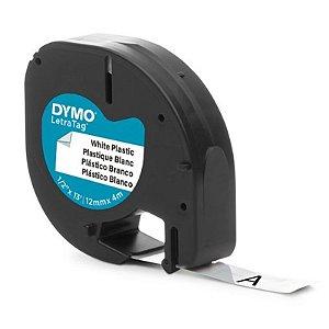 Fita LetraTag Plastic Labels Branco - unitário - DYMO