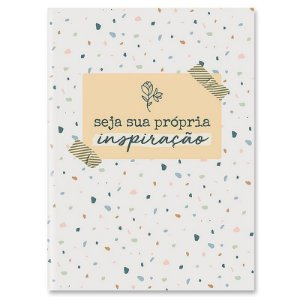 """Caderneta Dueto """"Seja sua própria inspiração"""" - unitário - Cartões Gigantes"""