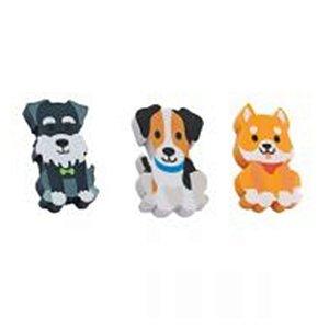 3 Borrachas Animal Planet Dogs - unitário - Molin