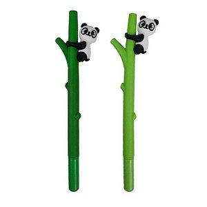 Caneta Gel Panda na Árvore - unitário - Kawaii