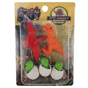 Borracha Dino - com 5 unidades - Importados