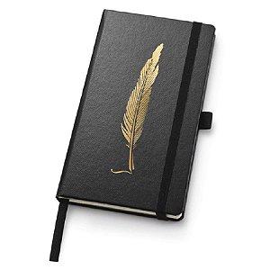 Caderno Noir Papertalk Slim Pontilhado - unitário - Ótima Gráfica