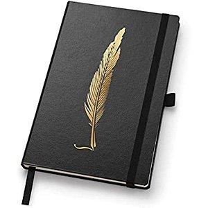 Caderno Noir Papertalk Maxi Pautado - unitário - Ótima Gráfica