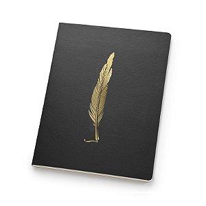 Caderno Noir Papertalk Flex Pontilhado - unitário - Ótima Gráfica
