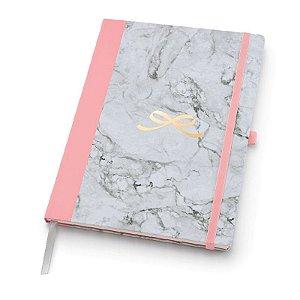 Caderno Pink Stone Papertalk Ultra Pontilhado - unitário - Ótima Gráfica