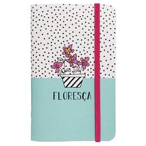 """Caderneta """"Floresça"""" - unitário - Fricote"""