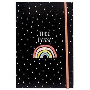 """Caderno Criativo """"Tudo Passa"""" - unitário - Fricote"""