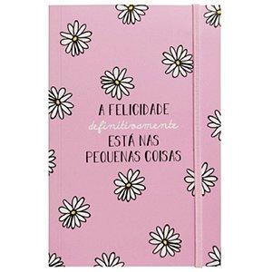 """Caderno Criativo """"A Felicidade"""" - unitário - Fricote"""