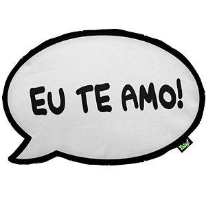 "Almofada ""Eu te amo, meu amor!"" - unitário - Yaay!"