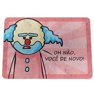 """Tapete Eco 3mm """"Paiaço Dr. Pepper"""" - unitário - Yaay!"""
