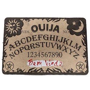 """Tapete Eco 3mm """"Tabuleiro Ouija - Bem Vindo"""" - unitário - Yaay!"""