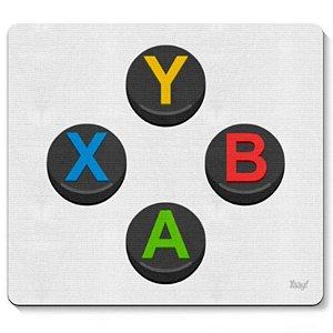 """Mousepad """"YXAB"""" - unitário - Yaay!"""