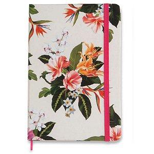 """Caderneta """"Tropical - Flora"""" - unitário - Cicero"""