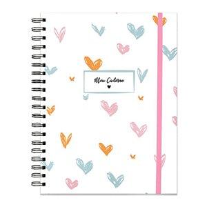 """Caderno de Planejamento """"Paixão em Cores"""" - unitário - Evertop"""