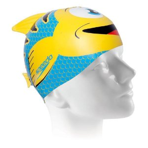 TOUCA SPEEDO FISH CAP AMARELA