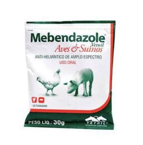 Mebendazole - Aves & Suínos