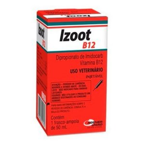 Izoot B12 – Antimicrobiano Injetável – 50 ml