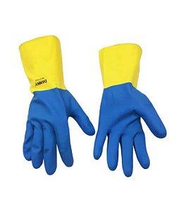 Luva Sanny Azul e Amarela