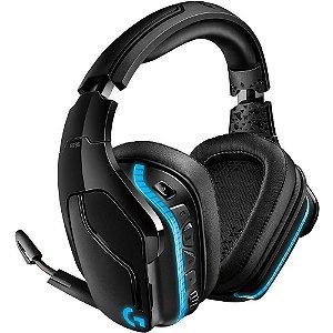 Headset Gamer Logitech G935 sem fio som Surround 7.1