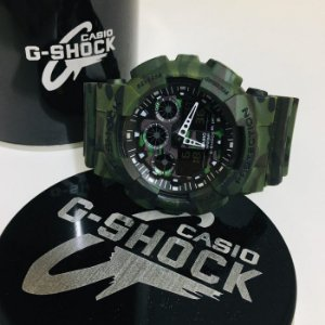 G-SHOCK GA 100 - CAMUFLADO EXÉRCITO