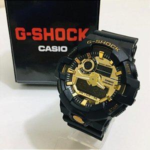 G-SHOCK 700- PRETO / DOURADO