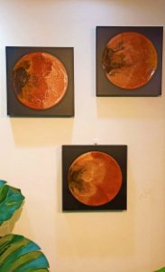Trio de Quadros Red Rocks